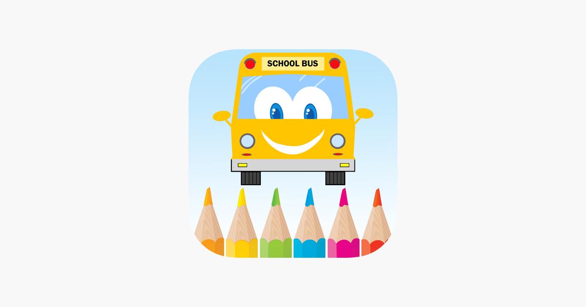 Araba Boyama Oyunu Için Bebek Ve Okul öncesi App Storeda