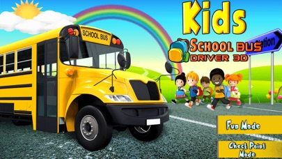 3D School Bus Driver Simulator