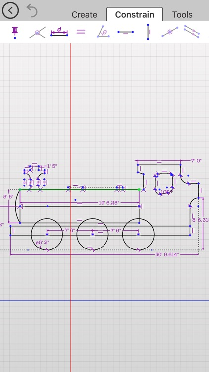 Updraw - create 2D CAD drawings with dimensions screenshot-1