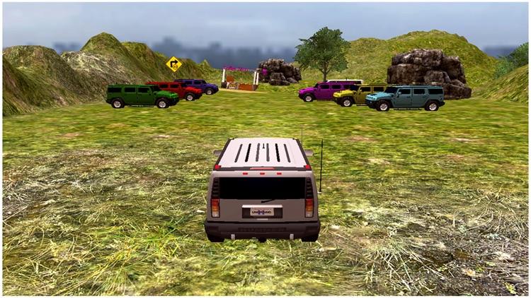 Monster Jeep Mountain Drive screenshot-3