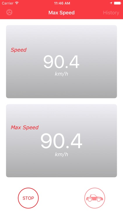 Max Speed - Find your top speed