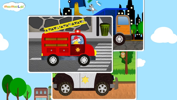 Car and Truck - Puzzles, Games, Coloring Activities for Kids and Toddlers Full Version by Moo Moo Lab