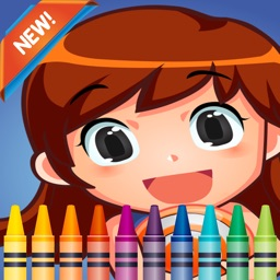 Girl Dress Up Coloring Book fun with these coloring pages games
