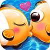 RongJuan Wong - Link Together - Kissing Fish artwork