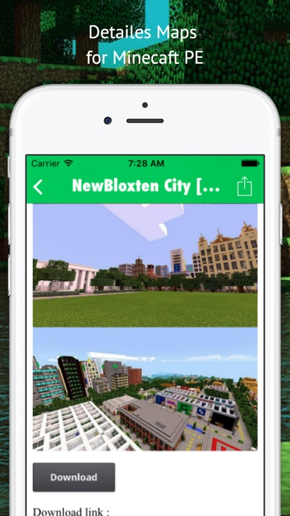 City Maps for Minecraft - Best Database Maps for minecraft Pocket Edition screenshot-4