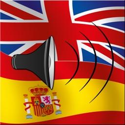 English / Spanish Talking Phrasebook Translator Dictionary - Multiphrasebook
