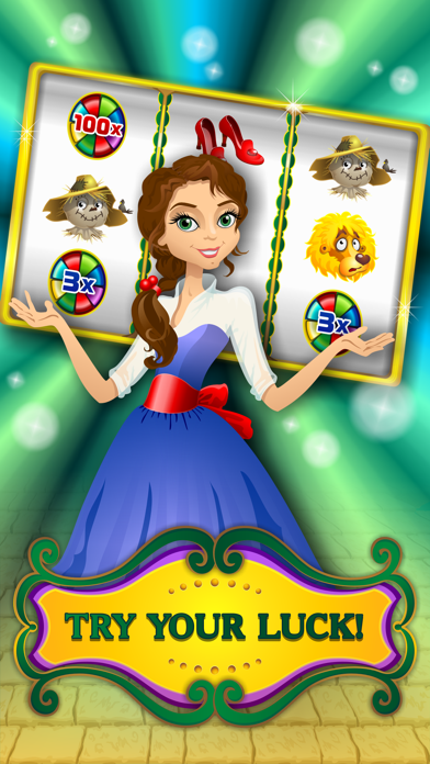 Oz Fun Slots of Wizard Land Free Play Game screenshot two