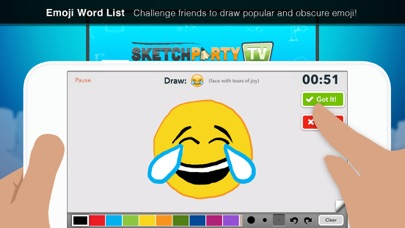 Screenshot #3 pour SketchParty TV