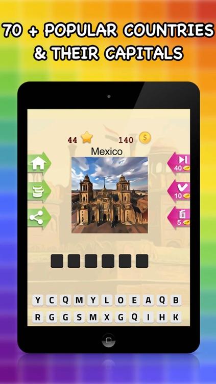 All Countries Capital - City Quiz Trivia Game screenshot-3
