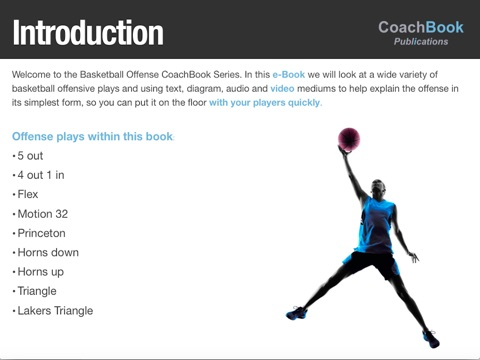 Basketball offense coachbook with video by coachbook on ibooks screenshot 1 ccuart Gallery