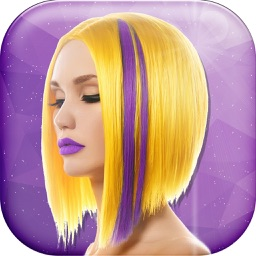 Fashion Hairstyle for Girls Pro – Fancy Hair Salon Photo Studio with Haircut Makeover Stickers