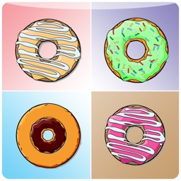 Hot Donut Matching Cards - brain fitness