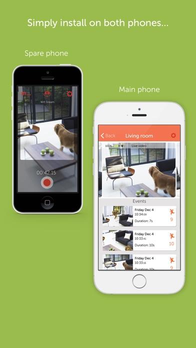 Manything security camera app app image