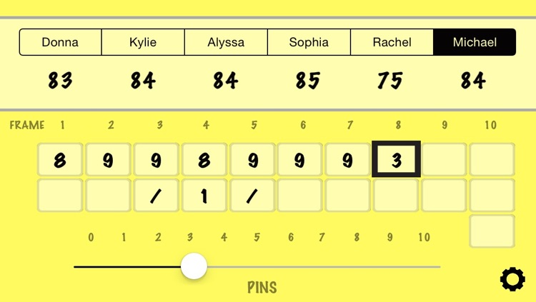 Bowling Score Calculator screenshot-3