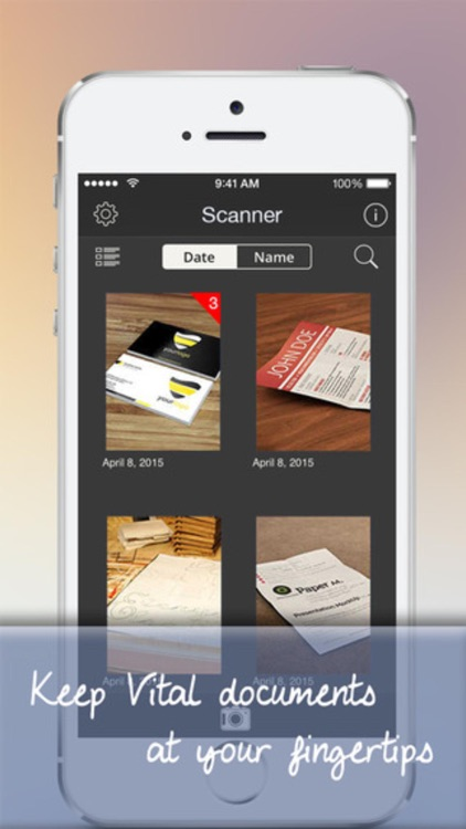 PDF Scanner - Scan multipage documents to PDF