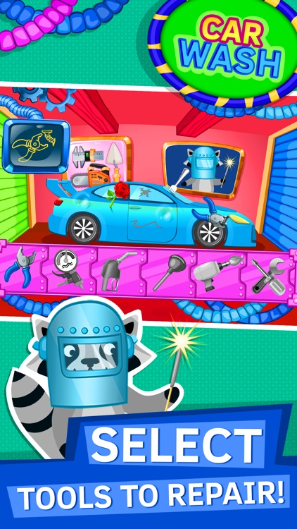 Car Detailing Games for Kids and Toddlers screenshot-3