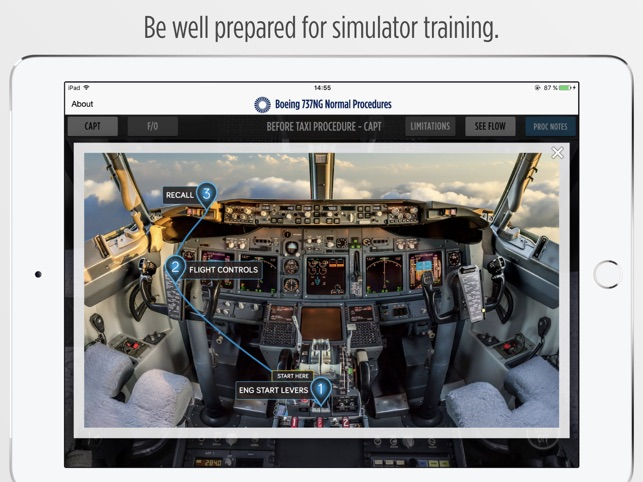 Boeing 737NG Normal Procedures on the App Store