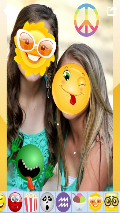Emoji Photo Stickers & Paint screenshot two