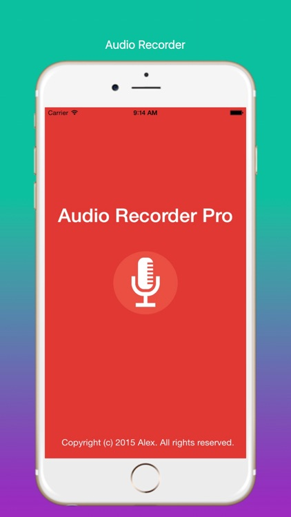 Voice Recorder and Cutter Pro screenshot-3