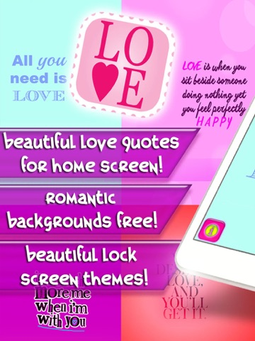 Love Quotes Wallpapers Free 2016 Cute Backgrounds For