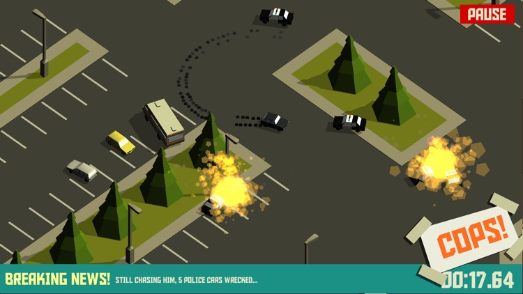 Pako - Car Chase Simulator screenshot-3