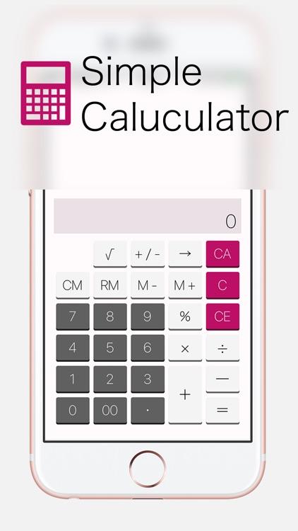 Calculator | Tiny App - Simple Free Calc App