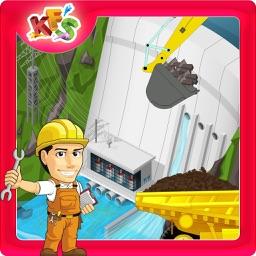 Build a Dam – Construction & builder mania game for kids