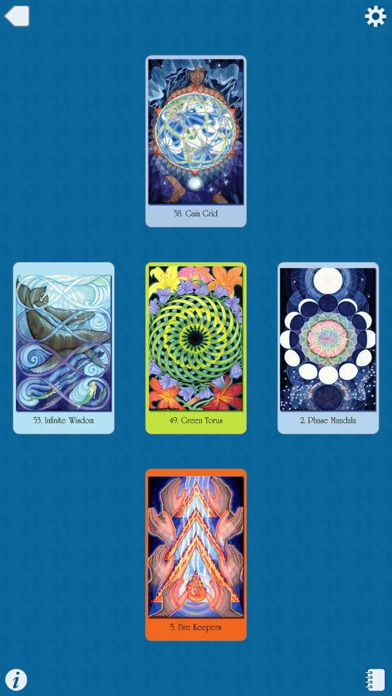 Sacred Geometry Cards for the Visionary Path-4