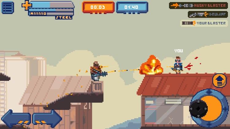 Gangfort - Online 2D Platformer Shooter screenshot-3