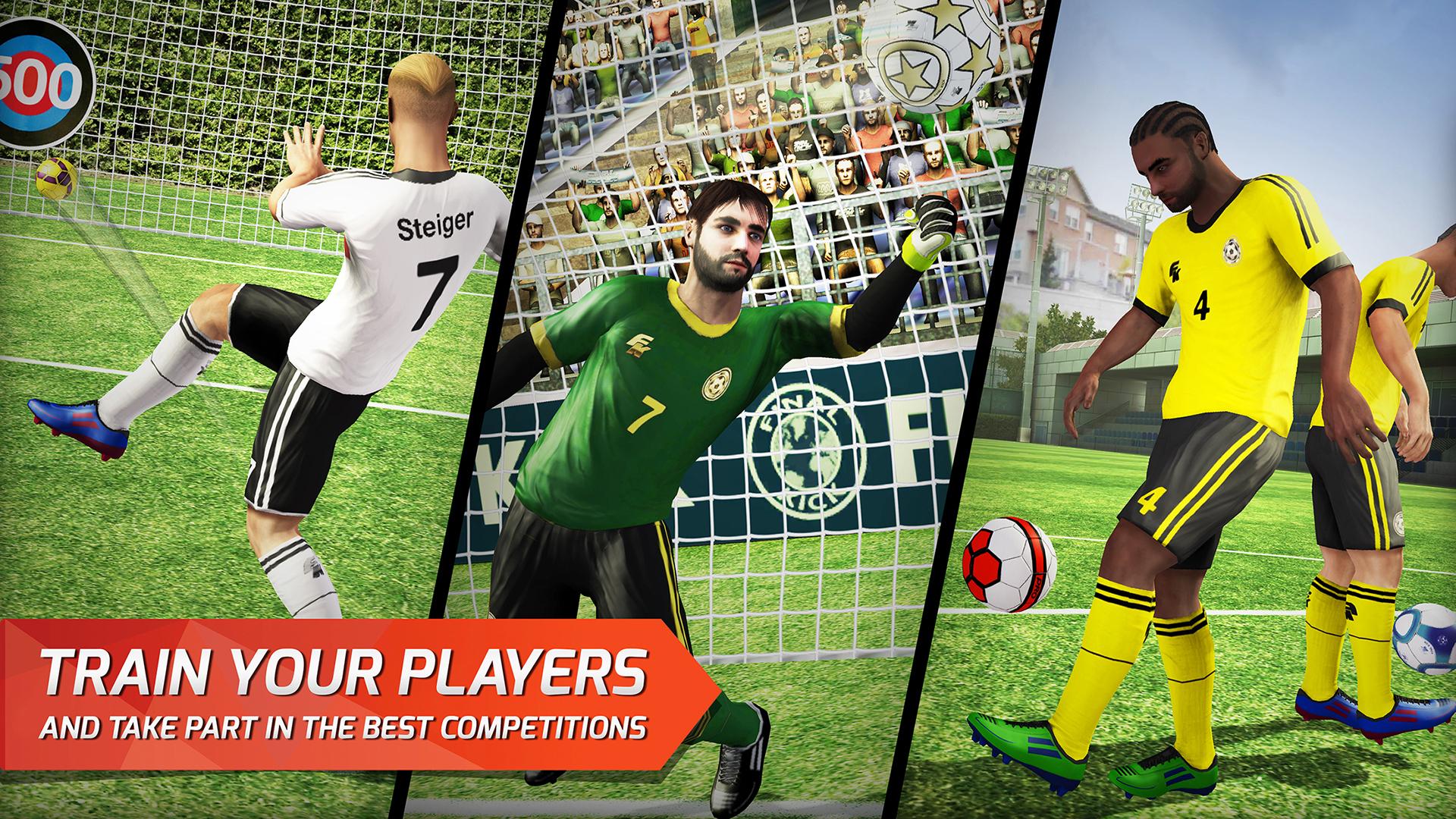 Final Kick: Online football screenshot 14