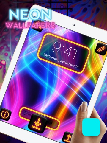 Cool Neon Wallpapers Glowing And Sparkling Backgrounds For