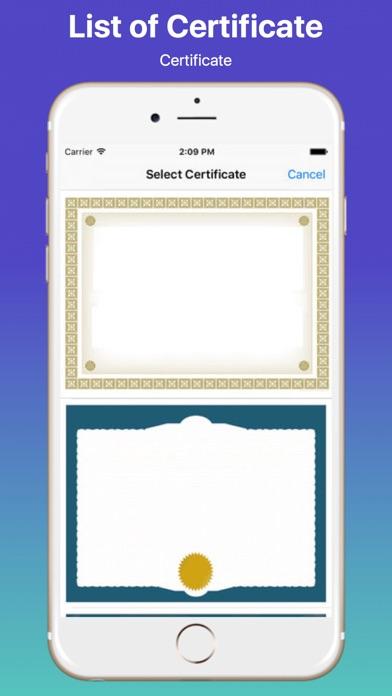 Create Your Own Certificate Proのおすすめ画像1