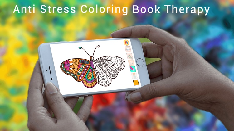 Coloring Book Art: Stress Relief Coloring Book for Adults & Color Therapy Pages