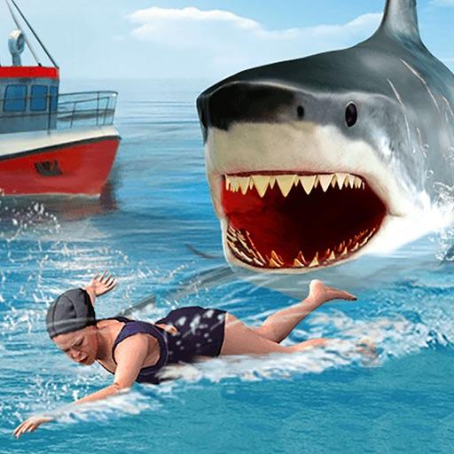 Shark Attack Revenge on Innocent Fisherman Boats Free Fishing Games