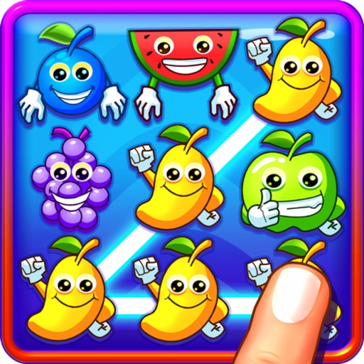 Move Fruit Splash - Match-3 Edition