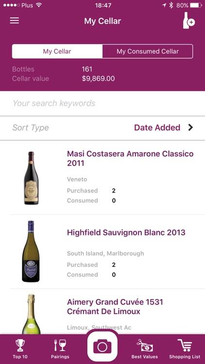 Wine Scanner & Expert Reviews