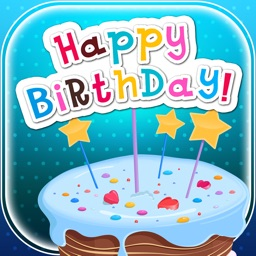 Virtual B-day Card Make.r – Wish Happy Birthday with Decorative Background and Colorful Text