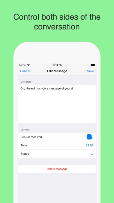 WhatsPrank - Create Fake Conversations for WhatsApp by Burcu Gul