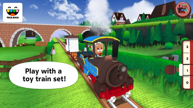 Toca Train screenshot-0