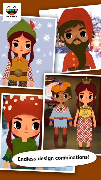 Toca Tailor Fairy Tales screenshot-4