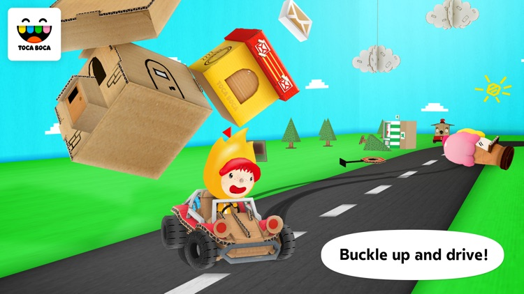 Toca Cars screenshot-0