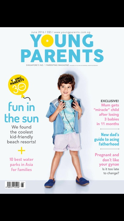 Young Parents Singapore Magazine screenshot-0