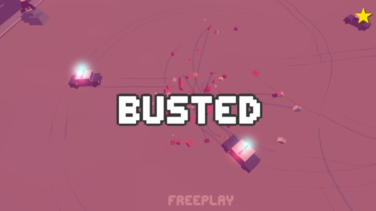 Smashy Dash 3 - PRO Crossy Crashy Cars and Cops - Wanted screenshot-4