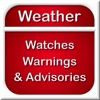 Weather Watches, Warnings and Advisories