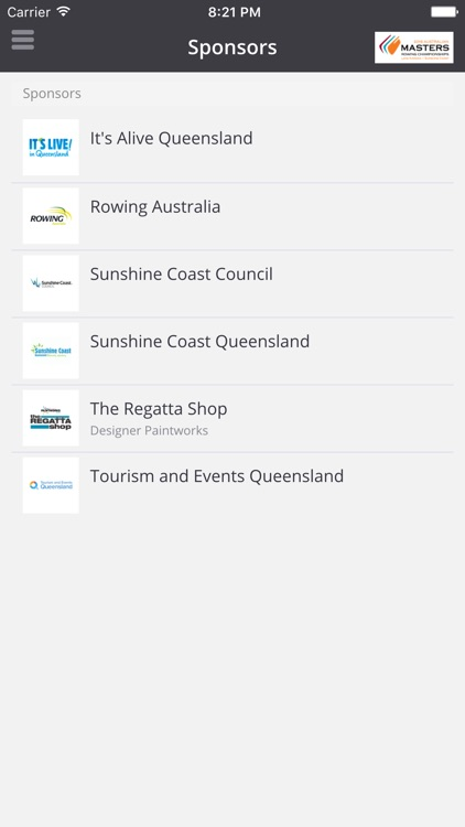 Australian Masters Rowing Championships