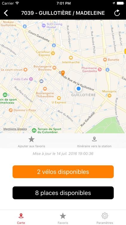 Simple Vélo Lyon screenshot-4
