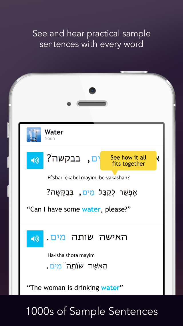 Learn Hebrew - Free WordPower screenshot four