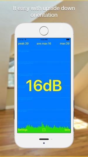 dB meter - Geräuschmessung Screenshot