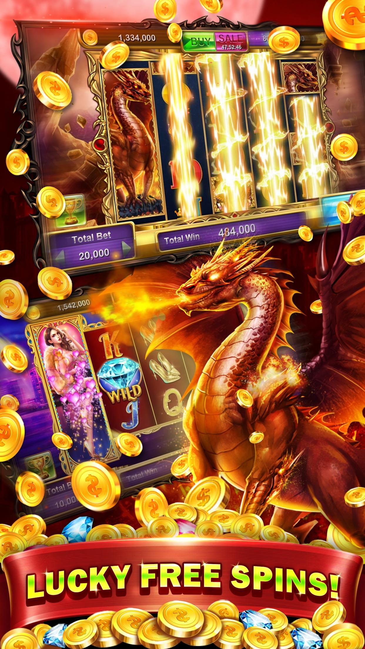 Lucky Slots-Free Real Vegas Slots, New Machine & Slot Tournaments Screenshot