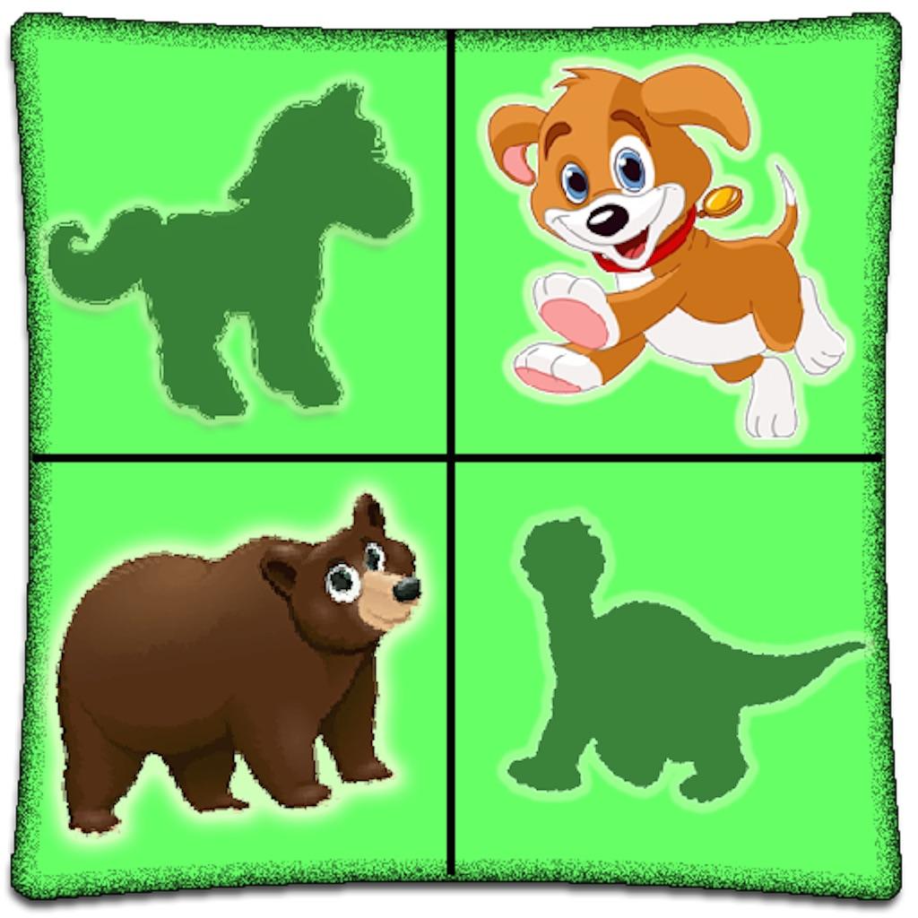 Animals match fun game for Preschool, Toddler kids & Adults hack